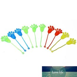 sticky toys UK - Mix Color Kids Children Squishy Hands Toy Stretchable Sticky Stick Slap Palm Novelty Party Supplies Fun
