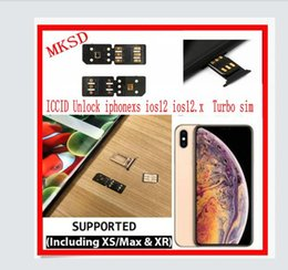 Air Sim Card Australia - 100% original RETAIL SAILED BLACK CHIP MKSD Air ICCID Unlock iphone xs ios12.3 ios12.2 iphone xr iphone xs max Turbo sim unlocking chip card