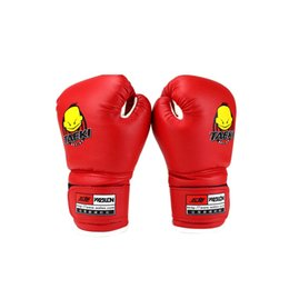 High Gear Training Australia - High Quality Child 1 Pair Durable Boxing Gloves Cartoon Sparring Kick Fight Gloves Training Fists PU Leather Boxing Gloves