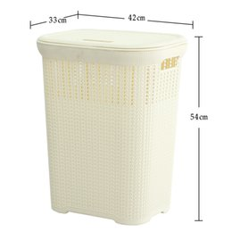 extra clothing NZ - Extra large hamper plastic laundry basket laundry bucket dirty clothes tweezers rattan household bathroom dirty clothes storage