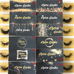 Strip modelling online shopping - Free Logo Natural Look D False Mink Lashes Mink Fur Amazing Eyelash with Private Label Mixed Models D sereis