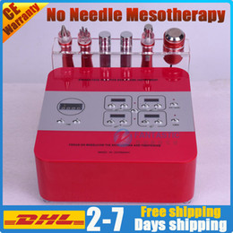 needle free mesotherapy UK - No-needle mesotherapy device facial skin care electroporation face lift needle free wrinkle removal rf skin rejuvenation microcurrent rf bio