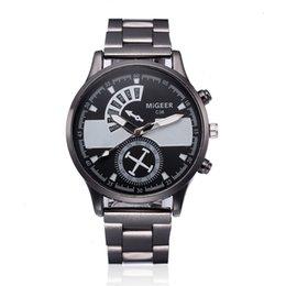 $enCountryForm.capitalKeyWord NZ - OTOKY Fashion Man Crystal Stainless Steel Analog Quartz Wrist Watch Gold Stainless Steel Quartz Wristwatches Sliver Casual NI10