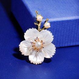 $enCountryForm.capitalKeyWord Australia - High-grade natural shell freshwater pearl flower a branch of plum new retro brooch pin accessories female X526