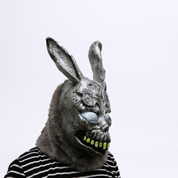 $enCountryForm.capitalKeyWord UK - Animal Cartoon Rabbit Mask Donnie Darko Frank The Bunny Costume Cosplay Halloween Party Maks Supplies J190710