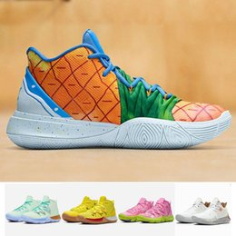 White house box online shopping - Sponge Pineapple House What the Kyrie Multi Color Patrick Squidward Mens Basketball Shoes Irving s Low Designer Sport Sneakers