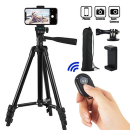Wholesale Smartphone Tripod Cellphone Tripod For Phone Tripod For Mobile Tripie For Cell Phone Portable Stand Holder Selfie Picture T191025