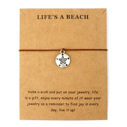 $enCountryForm.capitalKeyWord NZ - Life Is A Beach Jewelry Silver Gold Sharks Fish Seahorse Starfish Mermaid Seashells Octopus Whale Tale Charm Bracelets For Women