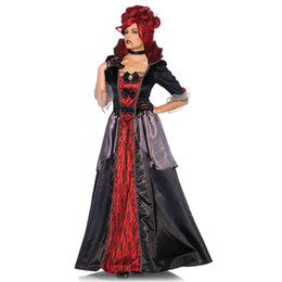 devil costumes women Australia - Girls Princess Vampire Cosplay Costumes for Women Halloween Costume Long Fantacy Dress Carnival Party Devil Halloween Costume
