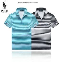 Cotton Thermal Wear Australia - 2019 New Pattern Men's Wear Short Sleeve Lapel Pure Cotton Tshirt Male Exquisite T-shirt