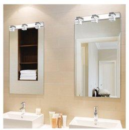 $enCountryForm.capitalKeyWord Australia - LED Mirror Light Modern Luxury Powerful Bright LED Crystal Bathroom Wall Lamp Bright Mirror Front light Wall Sconces Washroom Wall Lamp