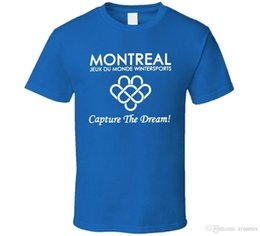 Latest T Shirts Printing Australia - 2017 Latest Fashion Blades of Glory Montreal Games Capture the Dream Skating Movie T Shirt Printed T Shirts Men's Streetwear