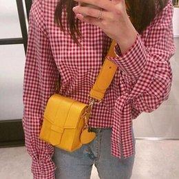$enCountryForm.capitalKeyWord Australia - 2019 Brand Women Bags Mini Pu Leather Messenger Bag Purse Wallet Bag Phone Chain Crossbody Bag Yellow Black Female 262
