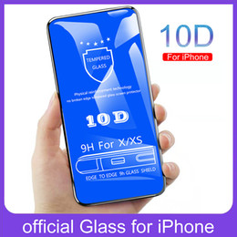 $enCountryForm.capitalKeyWord Australia - For iPhone X Tempered Glass,10D Curved Full Cover Glass Screen Protector Film Guard for iPhone XR XS MAX 6 6S 7 8 Plus