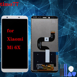 touch screen super Canada - Super quality For Xiaomi Mi 6X LCD Screen With Touch screen Digitizer Assembly Display Screen replacement Free Shipping DHL