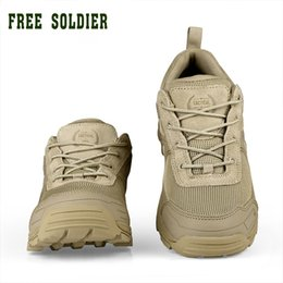 $enCountryForm.capitalKeyWord Australia - FREE SOLDIER outdoor sports tactical military men shoes for camping climbing shoes men boots mountain non-slip #97311
