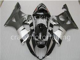 $enCountryForm.capitalKeyWord NZ - 3 gifts Fairings For K3 SUZUKI GSX-R1000 03-04 GSXR1000 GSX- GSX R1000 03 04 GSXR 1000 K3 2003 2004 Black Silver S12