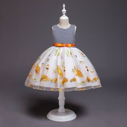 $enCountryForm.capitalKeyWord Australia - 2019 Hot Sale Mid-calf Cute Kids Dresses For Girls Girls Dress Children's Princess Tutu Of New Girl's Pure Vest Dresses Clothes