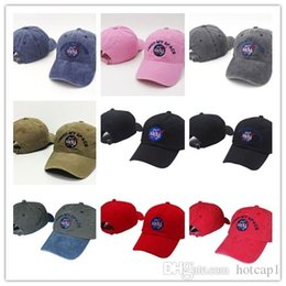 Blue felt hat online shopping - Cheap NEW Fashion rare I NEED MY SPACE NASA Meat Ball god Embroidered Cotton dad hat snapback Baseball cap i feel like pablo casquette