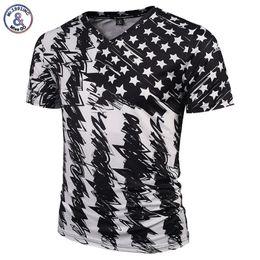 $enCountryForm.capitalKeyWord UK - Mr.1991inc New Fashion Brand Tshirt Men women V-neck 3d T-shirt Print Skulls Roses Flowers Usa Flag T Shirt Summer Tops Tees Y19050701