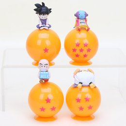 $enCountryForm.capitalKeyWord Australia - 4pcs set Dragonball Toy Super Saiyan Son Goku Krillin Majin Buu Zeno Dragon Ball Z Ball PVC Action Figure Model Toy Dolls Gift