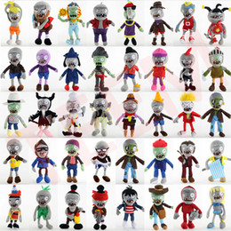 kids video games NZ - Hot sales 40 styles Vegetable plush toys Dolls 30cm Classic game dolls Zombie plush toys Cute simulation doll kids gift