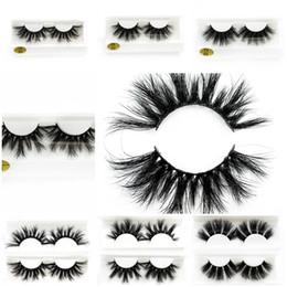 3ae1a3356b5 Big false eyelashes online shopping - 2019 mm D Mink Eyelashes Long Thick False  Eyelashes D