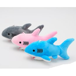 Plush toys mixed online shopping - Baby Cute Shark Tricolor Cute Shark Plush Toy Pendant Bag Pendant Random Color Mixed Delivery Arrives Working Days To Arrive