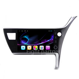 toyota car gps navigation corolla 2019 - Individuality 2.5D 10.2inch Android 8.1 Car dvd player for Toyota Corolla Altis 2017 Right Hand Drive GPS Navigation Rad