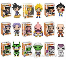$enCountryForm.capitalKeyWord Australia - Pretty Cute present Funko Pop Dragon Ball Z Super Saiyan Goku Vegeta Majin Buu Trunks Vinyl Action Figure With Box #121 #24 #156 #14
