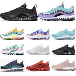 White Rose Day Australia - Hot Running Shoes Court purple South Beach Barely Rose Triple White Black Have a day Mens womens Trainer Sports Sneaker Size 36-46