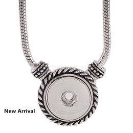 Diy chain tassel necklace online shopping - Partnerbeads New Trendy Ethnic Style Tassel Pendant Snap Necklace Fit Diy mm Snap Buttons Jewelry