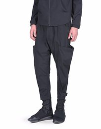 Hearty 2017 Mens Clothing Gd Hair Stylist Fashion Personality Irregular Culottes Pants Trousres Plus Size Singer Costumes 27-44 Pants Harem Pants