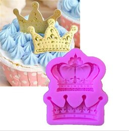 princess cupcakes cake Australia - New Bar Crowns from Princess Queen 3D Silicone Mold Fondant Cake Cupcake Decorating Tools Clay Resin Candy Fimo Super Sculpey