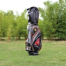 Wholesale golf bag 2020 Fashion brand pu leather golf bag new skull ball bags pirates golf club bags professional men women