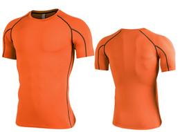 64cc1197 Casual Sport T Shirt Men Cotton Dry Fit Gym Training Tshirt Men Rashgard  Running Shirt Sportswear Bodybuilding Shirt Fitness Top