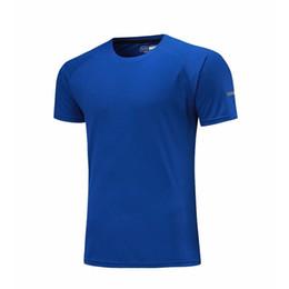 $enCountryForm.capitalKeyWord NZ - Women Men Sports Running Shirts Quick Dry Solid Fitness T Shirt Slim Fit Short Sleeve Top Sport Training Gym T Shirts Muscle Tee