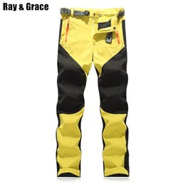 911b419be4ee RAY GRACE Hiking Pants Men Summer Waterproof Outdoor Stretch Quick Dry Pants  Trekking Fishing Trousers Hunting Climbing Mountain
