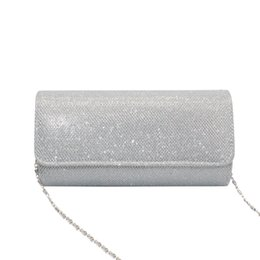 $enCountryForm.capitalKeyWord Australia - Lady Crossbody Mini purse clutch bag Sequins Leather Bag Crystal Bling Cocktail Party Chain Phone Evening #0813