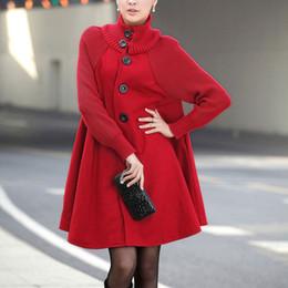 $enCountryForm.capitalKeyWord Australia - HEE GRAND 2019 Long Jackets Women Cape Overcoats Cloak Windbreaker Loose Winter Wool Trench Coat Autumn Manteau Femme WWN1203