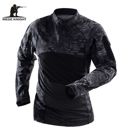 $enCountryForm.capitalKeyWord Canada - Mege Brand Military Tactical Clothing Camouflage Men Army Long Sleeve Soldiers Combat Airsoft Uniform Multicam Shirt #424915