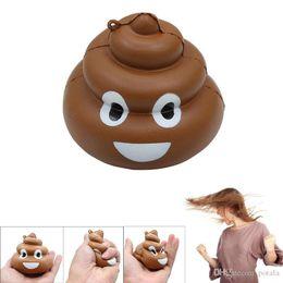 Funny Horror Prank Toys Australia - Mini 8.7*7.2cm Funny Poo Squishy Slow Rising Toys Cute Cartoon Kawaii Poop Antistress Toys For Kids Novelty interesting Fun Joke Prank Toys