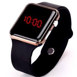 Men Digital Wrist Watches UK - LED Watches Men Sport Casual Men's Digital Clock Man Army Silicone Wrist Watch Clock Hodinky Ceasuri Relogio Masculino