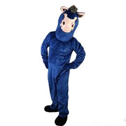$enCountryForm.capitalKeyWord UK - New high quality blue donkey ass Mascot costumes for adults circus christmas Halloween Outfit Fancy Dress Suit Free Shipping