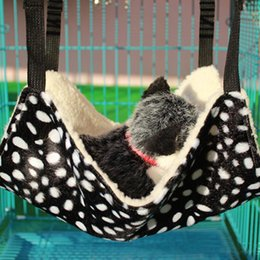 $enCountryForm.capitalKeyWord Australia - TPFOCUS Breathable Soft Cat Hammock Cats Beds Winter Pet Mat Small Dog Nest Short Plush Warm kitten House Sofa Cushion For Cat
