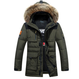 $enCountryForm.capitalKeyWord Australia - Fashion-Raccoon Fur Hood Men Down Jacket Winter Thicken Windbreaker Snow Warm Overcoat Hat Long Parka Duck Down Coats Male Black Brands