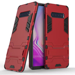 $enCountryForm.capitalKeyWord UK - Military Shockproof Case For Samsung Galaxy Note 10 Plus 9 S10 S9 S8 Stand Holder Hard Cover For Samsung A10 A10S A20E A30 A20S A40 A50 A70