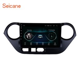 Hyundai steering wHeels online shopping - All in one Android Car Radio GPS Navigation for HYUNDAI I10 Grand i10 RHD with Bluetooth WiFi support Steering Wheel Control