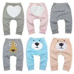 $enCountryForm.capitalKeyWord Australia - Newborn Baby Boy Girl Pants Print Pattern Infant Trousers For Sports Babys Harem Pants Cotton Kids Girl Boy