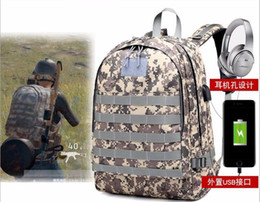 large outdoor games 2019 - Game Playerunknown's Battlegrounds PUBG Cosplay Level 3 Instructor Backpack Outdoor Multi-functional Large Capacity